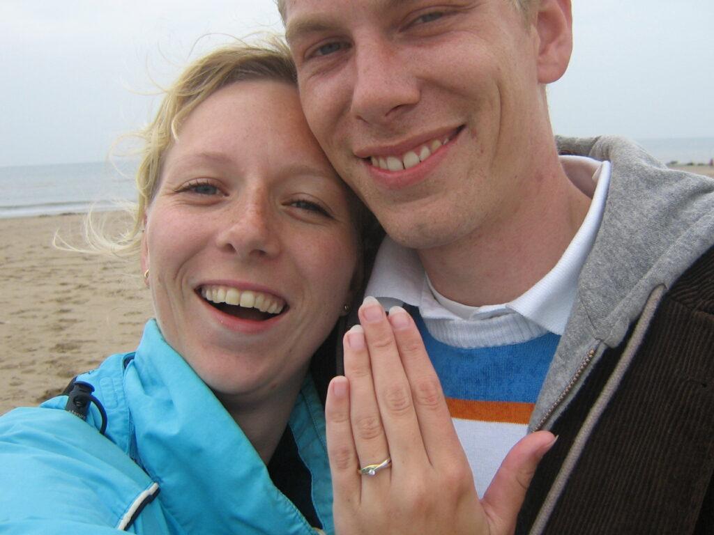 Huwelijksaanzoek Hans en Fernanda
